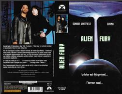 """ALIEN FURY"" -jaquette SPECIMEN Originale PARAMOUNT VHS SECAM -coutdown To Invasion - Fantascienza E Fanstasy"
