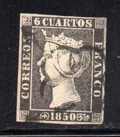 Spain - 1850 - 6c - Yv. 1 - Used - Usados