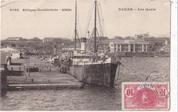 AFRIQUE//001..........3 CPA DAKAR - 5 - 99 Karten