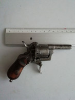 Petit Pistolet Ancien 14cm X 10cm - Decorative Weapons