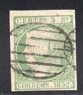 Spain - 1852 - 5r - Yv. 15 - Used - Usados