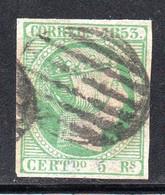 Spain - 1853 - 5r- Yv. 20 - Used - Usados