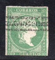 Spain - 1856 - 2c - Yv. 38 - Used - Usados