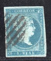 Spain - 1855 - 1r - Yv. 36 - Used - Usados