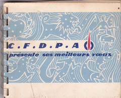 """Calendrier : Petit Format : TOTAL : Complet - Voir 15 Scans : Bateau """" Biblos - Automobiles - 2CV Citoën Fourgonnette - Kleinformat : 1941-60"""
