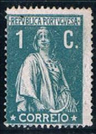 Portugal, 1912, # 208 Dent. 15x14, MNG - Unused Stamps