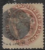 Newfoundland   1865   Sc#28   12c  Victoria  Used   2016 Scott Value $47.50  Spacefiller - 1865-1902