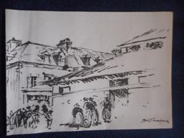 Invitation Expo SYDNEY LOUGH THOMPSON à CONCARNEAU 1997 - Collections