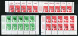 Lot Marianne Du 14 Juillet, En F, En Blocs De 4 Ou 10 Cd - Collections, Lots & Séries