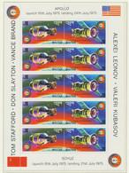 BHUTAN 1975, Apollo-Sojuz Two Suberb Very Scarce U/M MS - Bhután