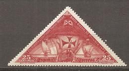 ESP 1930- Yv. N° 450  *  25c Christophe Colomb  Cote 1,75  Euro BE  2 Scans - Nuevos