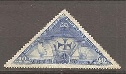 ESP 1930- Yv. N° 452  (*)  40c Christophe Colomb  Cote 7  Euro BE  2 Scans - Nuevos