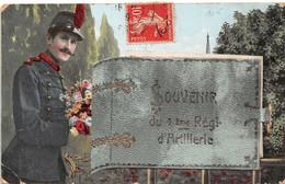 25-MILITARIA REGIMENT D ARTILLERIE-N°T5040-H/0283 - Altri Comuni