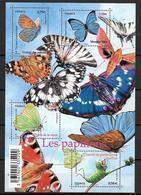 France 2010 Bloc Feuillet F4498 Neuf Papillons à La Faciale - Mint/Hinged