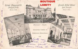 Slovaquie 1905 Pyestany Slovakia Grand Hotel Ronai Nagyszallo Bad Postyen Furdo Carte 3 Vues - Slovakia