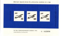 CK 1970 - Pretisky Druhe Faksimile N°043898 - Avion Airplane Flugzeug - Brno - Cartas