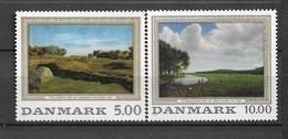 1992 MNH Danmark, Michel 1044-5 Postfris** - Unused Stamps