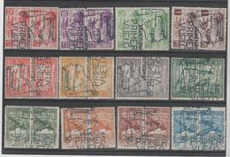 ANDORRA- SELLOS NO EMITIDOS, MATASELLADOS DE FAVOR-COMPLACENCIA-FANTASIA TAMPON PRIMER VUELO, VUELO NO REALIZADO (K-1)) - Used Stamps