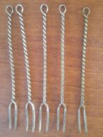 Lotto 5 Forcine Aperitivo Anni '40-'50 (1) - Forks