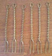 Lotto 5 Forcine Aperitivo Anni '40-'50 (2) - Forks