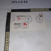 FB4484 REP. ITALIANA FDC ROMA 1982 ALITALIA PARTECIPAZIONE ALLA ROMOLYPHIL '82 TIMBRO TARGHETTA - F.D.C.