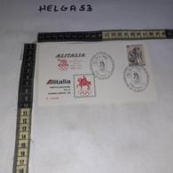 FB4485 REP. ITALIANA FDC ROMA 1982 ALITALIA PARTECIPAZIONE ALLA ROMOLYPHIL '82 TIMBRO TARGHETTA - F.D.C.