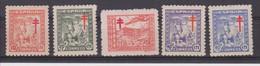 Año 1944 Edifil 984 A 988 Serie Pro Tuberculosos - 1931-50 Ungebraucht