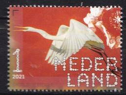 Nederland - Beleef De Natuur - 22 Februari 2021 - De Onlanden - Grote Zilverreiger - MNH - Ungebraucht