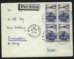 FRANCE Poste Aérienne 1936: LSC De Macon Pour La Suisse - 1927-1959 Lettres & Documents