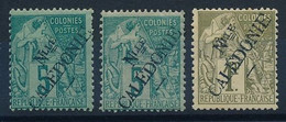 DX-614: Nelle CALEDONIE: Lot Avec N°24*(2)-34 - Unused Stamps