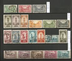 Maroc  1 Lot De 21 Timbres Oblitérés  De 1917 Et 1923 (A2) - Used Stamps