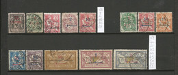 Maroc  1 Lot De 13 Timbres Oblitérés  De 1902 à 1917 (A1) - Used Stamps