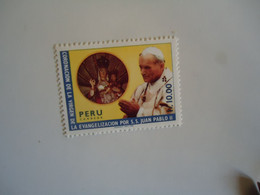 PERU MINT STAMPS  POPES - Papas