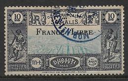 Côtes Des Somalis. France Libre N° 231 Oblitéré Cote 230€. - Used Stamps