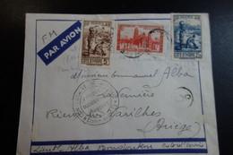 LETTRE FM Contolée  DE 1940 - Briefe U. Dokumente