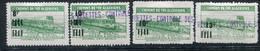 Algérie    Colis Postaux 167/170 * - Paketmarken
