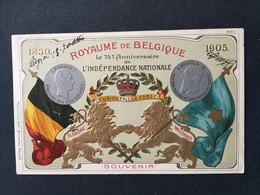 ROYAUME DE BELGIQUE - Le 75 ème Anniversaire De L'Indépendance Nationale - Collections