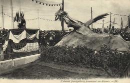 Inaugutatin Du Monument Aux Victimes Du PLUVIOSE (Sous Marin ) 22 Juin 1913 L'Amiral Jauréguiberry Prononcant Son Discou - Submarines