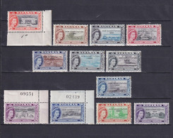 BAHAMAS 1964, SG# 228-243, Part Set, Elizabeth II, Ships, Architecture, MH - 1963-1973 Ministerial Government