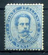 1879 REGNO N.40 25 Centesimi * Firmato / Non Perfetto - Ungebraucht