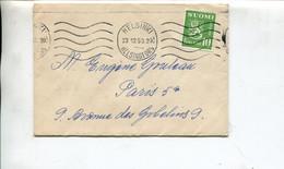 Finlandia (1953) - Bustina Per La Francia - Cartas