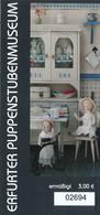 BRD Erfurt Thüringen Eintrittskarte Ermäßigt Erfurter Puppenstubenmuseum - Tickets - Vouchers