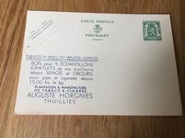 Belgique : Publibel Neuf N191 : Horgnies à Thuillies (tabacs, Semois) - Publibels