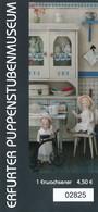 BRD Erfurt Thüringen Eintrittskarte Erwachsener Erfurter Puppenstubenmuseum - Tickets - Vouchers