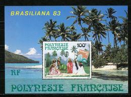 POLYNÉSIE: - BRASILIANA 83 - N° Yvert BLOC 7 ** - Blocks & Sheetlets