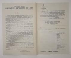 UNION DES AGRICULTEURS CATHOLIQUES DE L'OISE - Évêché De Beauvais - Historical Documents