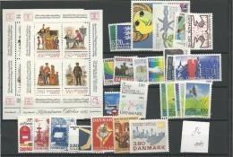 1986 MNH Denmark, Dänemark, Year Complete According To Michel, Postfris - Volledig Jaar