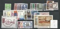 1988 MNH Denmark, Dänemark, Year Complete, Postfris - Volledig Jaar