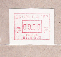 1987  ATM63** Bruphila '87.Automaatzegel. - Postage Labels