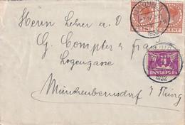 DANEMARK 1932 LETTRE DE IJMUIDEN - Briefe U. Dokumente
